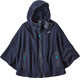 """Patagonia W's Synch Lightweight Poncho Navy Blue"""